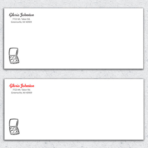 Free Envelope Template 1
