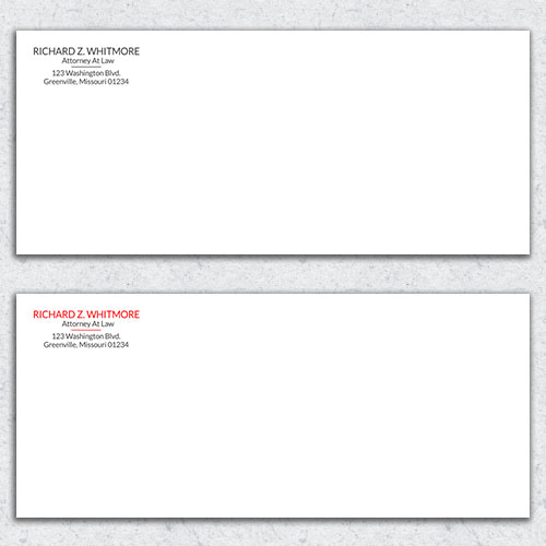 Free Envelope Template 21