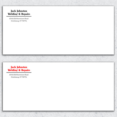 Free Envelope Template 3