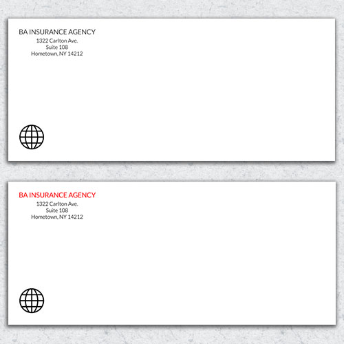 Free Envelope Template 6