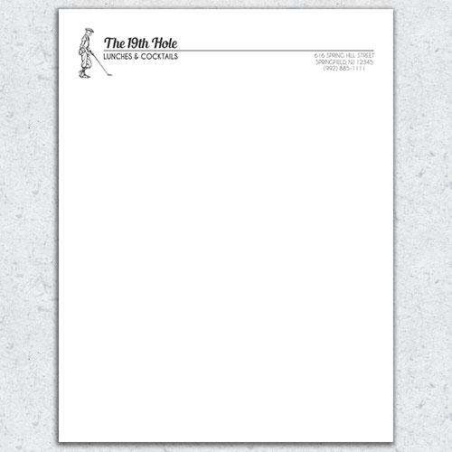 free letterhead template 13