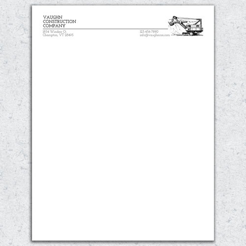 free letterhead template 20